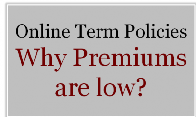 Online Term Plan-Why premiums are low?
